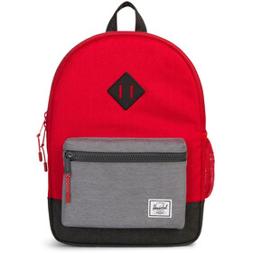 Herschel Heritage Backpack Youth Barbados Cherry/Mid Grey/Black